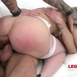 Bara ass banged and DP'ed by 2 cocks SZ1241