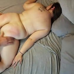BBW Hottie Horny Nicky will make you cum with her moans