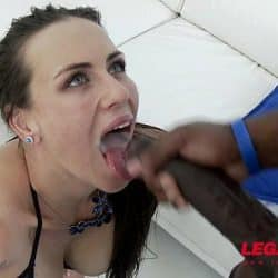 Hot Nympho Mea Melone assfucked by 4 Big Cocks & DAP'ed
