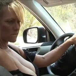 LESBIAN HITCHHIKER SCENE 2 – 2009 – Nicole Ray and Debbi Diamond