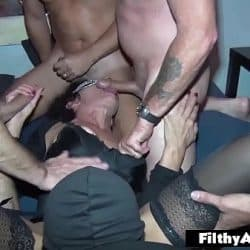 My wife first Gangbang! Real Amateur! Anal & DP