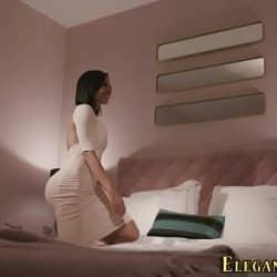 Posh ebony slut analized