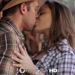 HD FantasyHD – Cowgirl Dani Daniels rides dick at the farm
