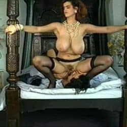 402339 classic natural big breasted woman enjoying her man