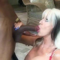 Banging My Buddies MOM  #interracial #MILF  Sally D'angelo