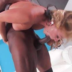 Blonde Interracial Fucking