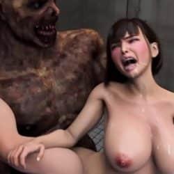 【3D】 Zombie Destroys Milf