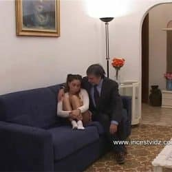 Horny daddy and cute daughter