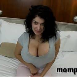 MILF with big tits fucked hard