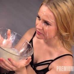 Premium Bukkake – Nikki Hill swallows 69 huge mouthful cum loads