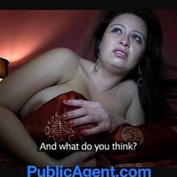 PublicAgent Massive Boobs fucked in the Hotel