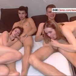 Russian Teens Doing Orgy
