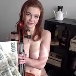 Sophia Traxler Nada – 18 yo virtuoso with DDD tits Czech Streets 117