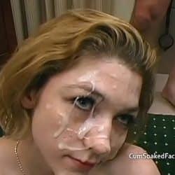 Teen sucks off old mens cocks before cum soaking