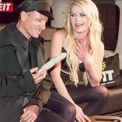 VIP SEX VAULT – Uber Taxi Driver seduce Blonde and broke her pussy (Claudia Macc)