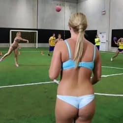COLLEGE RULES – Payton Simmons, Megan Matthews, Carter Cruise and More Playing Games With Their Colleagues
